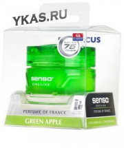 Осв.воздуха DrMarcus на панель гель  Senso Delux  Green Apple